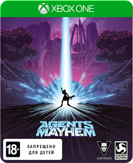Agents of Mayhem. SteelBook издание [Xbox One, Русские субтитры]
