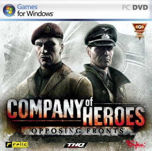 Company of Heroes: Opposing Fronts [PC-DVD, Jewel, Русская версия]