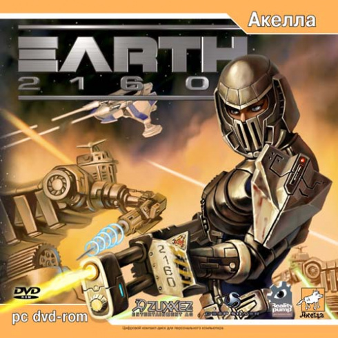 Earth 2160 [PC-DVD, Jewel, Русская версия]