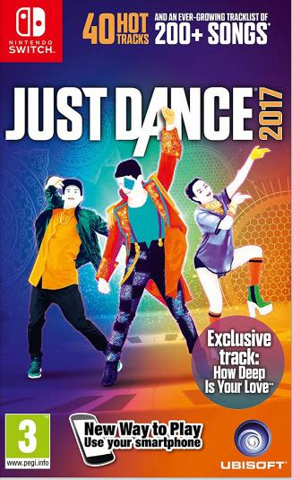 Just Dance 2017 [Switch, Русская версия]