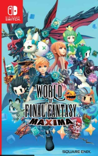 World of Final Fantasy: Maxima [Switch, Английская версия]
