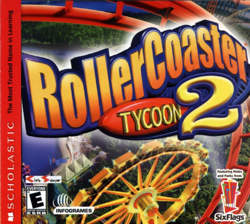 RollerCoaster Tycoon 2 (Deluxe Edition) [PC-CD, Jewel, Русская версия]
