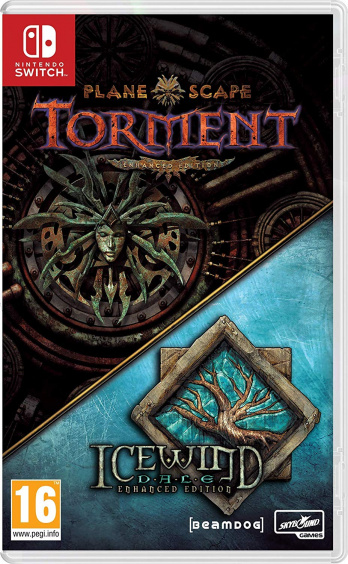 Planescape: Torment (анг.) & Icewind Dale Enhanced Edition (рус.) [Switch, Русская версия]