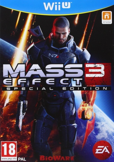 Mass Effect 3 (Special edition) [Wii U, Английская версия]