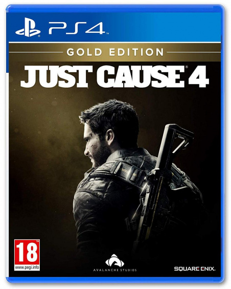 Just Cause 4. Gold Edition [PS4, Русские субтитры]