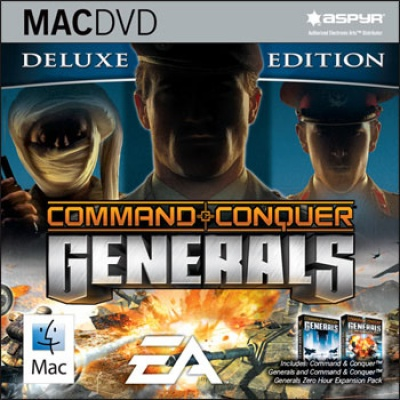 Command & Conquer: Generals Deluxe Edition [MAC-DVD, Jewel, Английская версия]