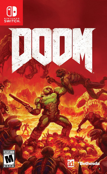 Doom [Switch, Русская версия] [БУ]