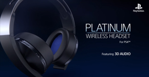 Sony Headset Platinum