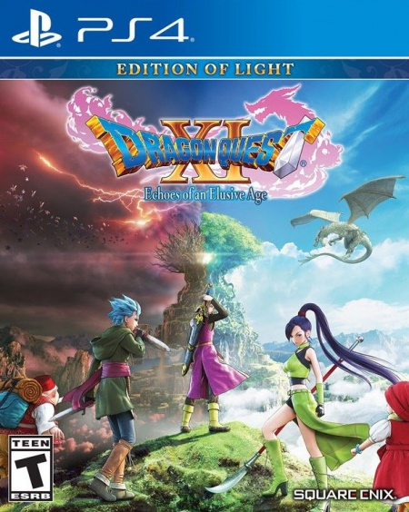 Dragon Quest XI: Echoes of an Elusive Age. Издание света [PS4, Английская версия]