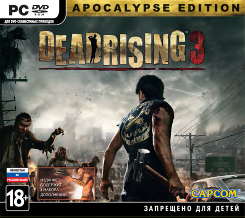 Dead Rising 3 (Apocalypse Edition) [PC-DVD, Jewel, Русская версия]