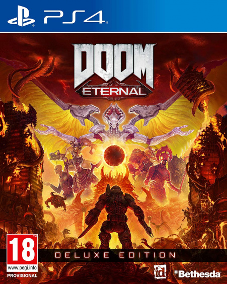 Doom Eternal. Deluxe Edition [PS4, Русская версия]