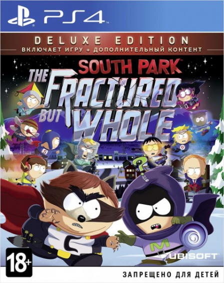 South Park: The Fractured But Whole. Deluxe Edition [PS4, Русские субтитры]