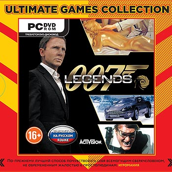 Ultimate Games Collection. 007 Legends [PC-DVD, Jewel, Русская версия]