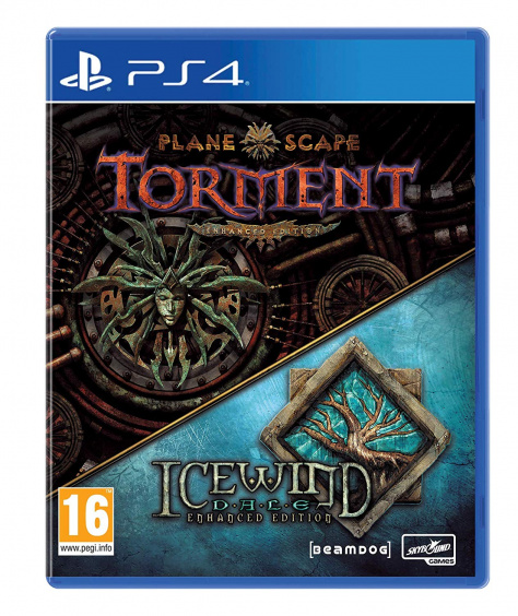 Planescape: Torment (анг.) & Icewind Dale Enhanced Edition (рус.) [PS4, Русская версия]