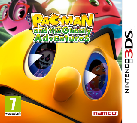 Pac-Man and the Ghostly Adventures [3DS, Английская версия]