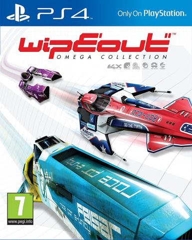 WipEout Omega Collection [PS4, Русская версия]