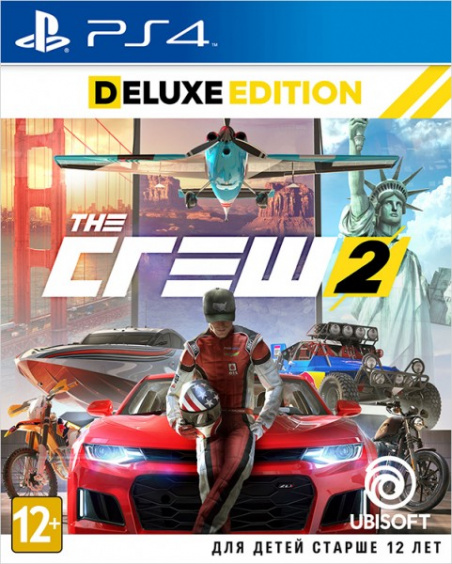 The Crew 2. Deluxe Edition [PS4, Русская версия]