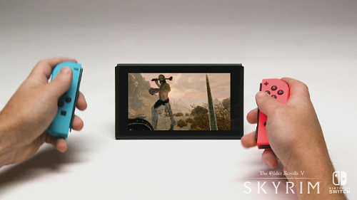 The Elder Scrolls V: Skyrim теперь и для Nintendo Switch! Уже в наличии!