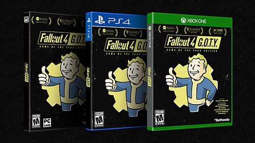 Fallout 4 Game of the Year Edition уже доступен к покупке!